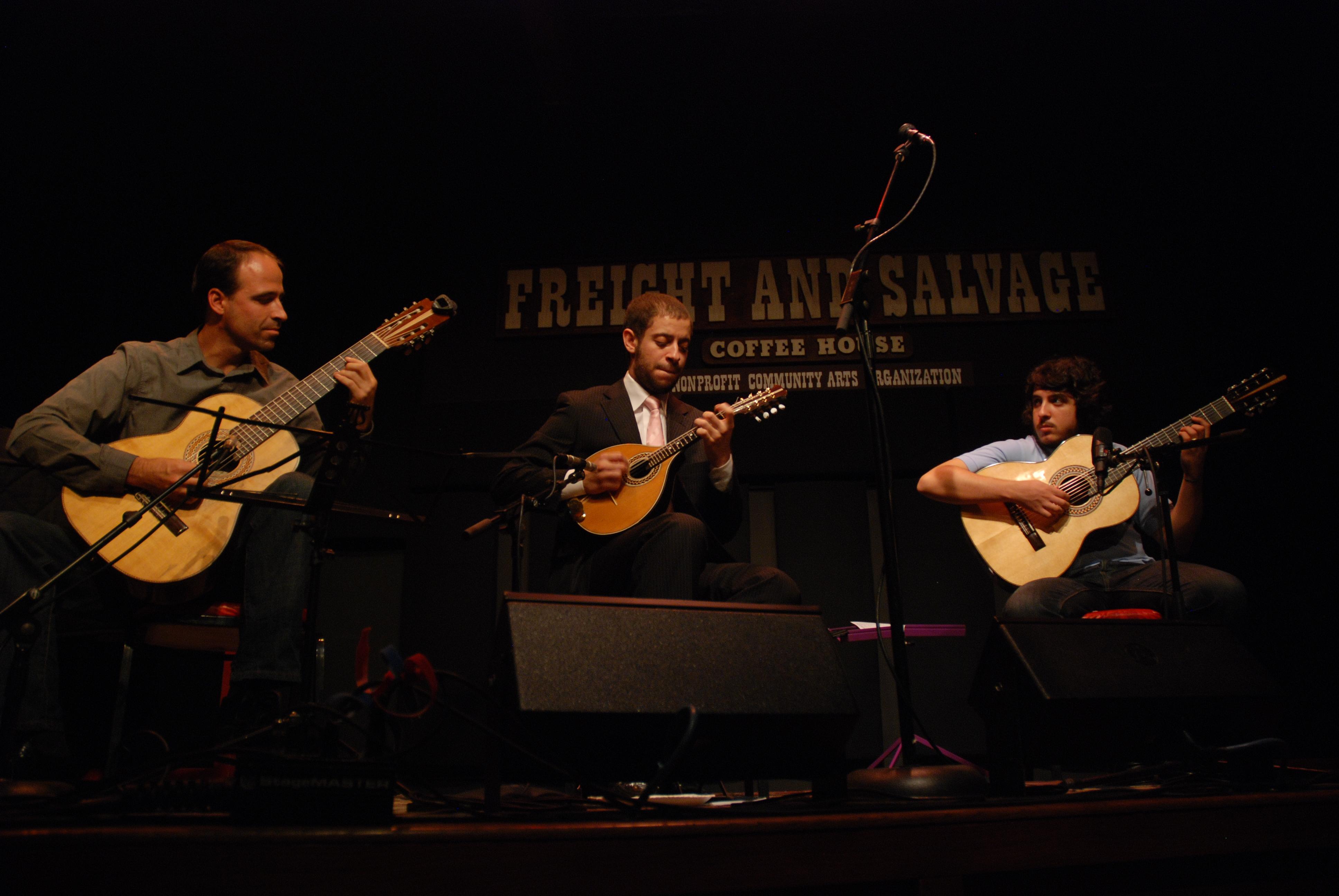 Freight and Salvage, com Colin Walker e João Camarero