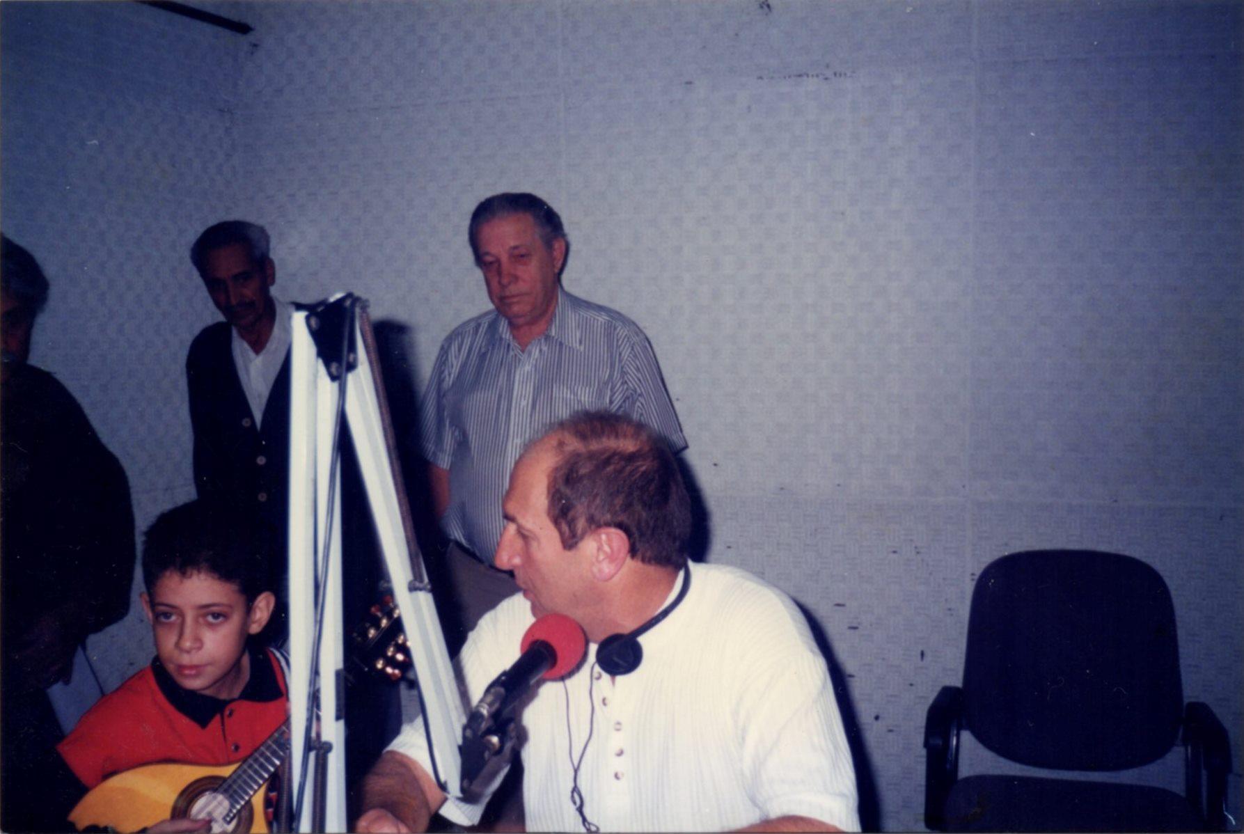 Na Rádio Iguatemi, com José Carlos Gomes
