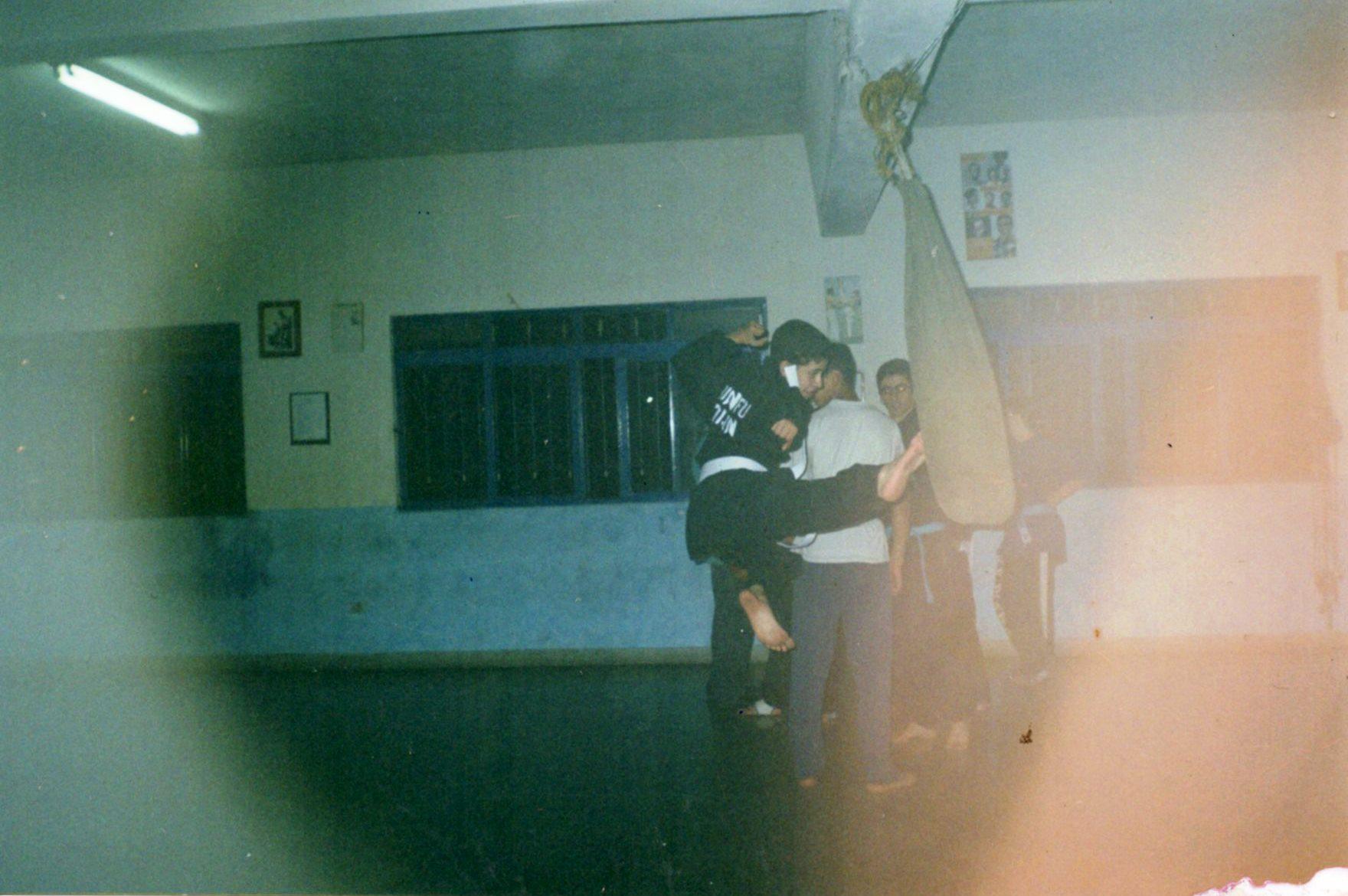 Danilo praticou artes marciais por vários anos