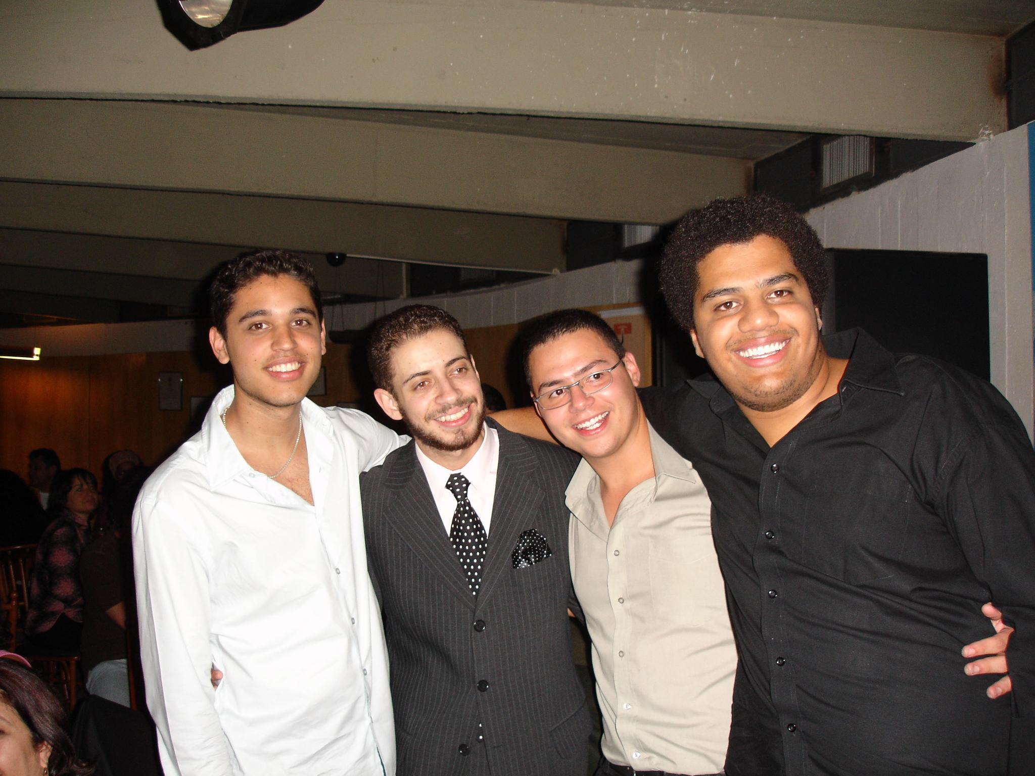 Clube do Choro de Brasília 2006, com Henrique Neto, Márcio Marinho, Rafael dos Anjos