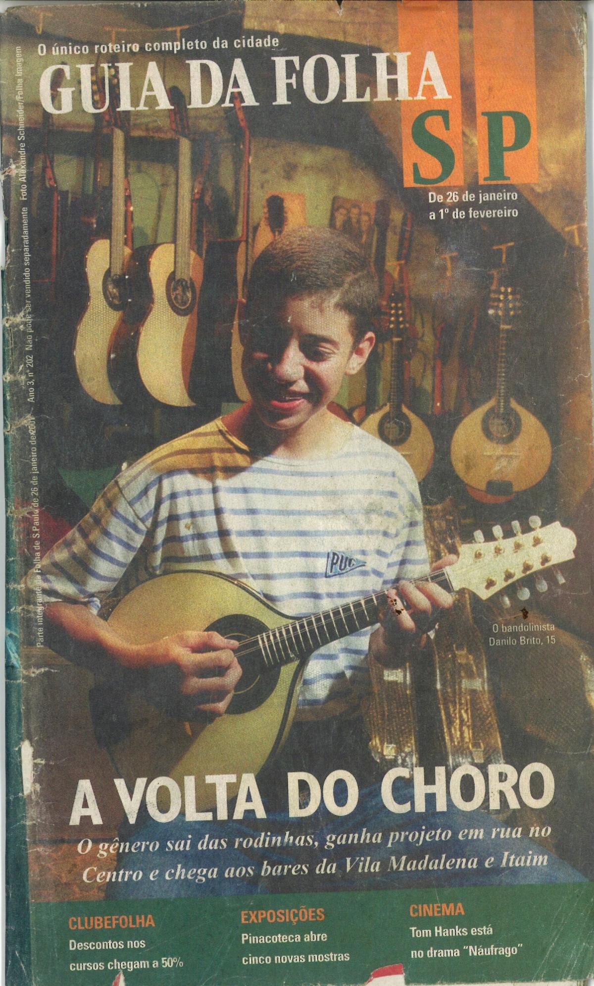 Capa Guia da Folha - Folha de São Paulo
